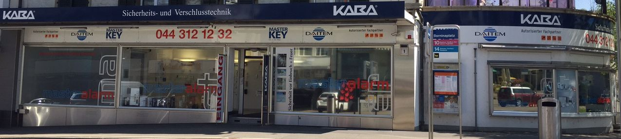 Master Key und Master Alarm Showroom