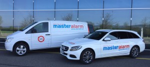 Montagefahrzeuge Master Alarm Lufingen