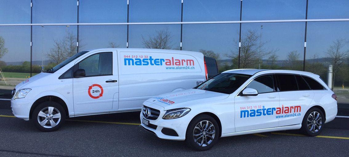 Schlüsseldienst Zürich Montagefahrzeuge Master Alarm