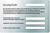Schluesseldienst Zürich Keso Sicherheitskarte für Nachschluessel Bestellung