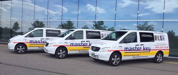 Einsatzfahrzeuge von Master Key