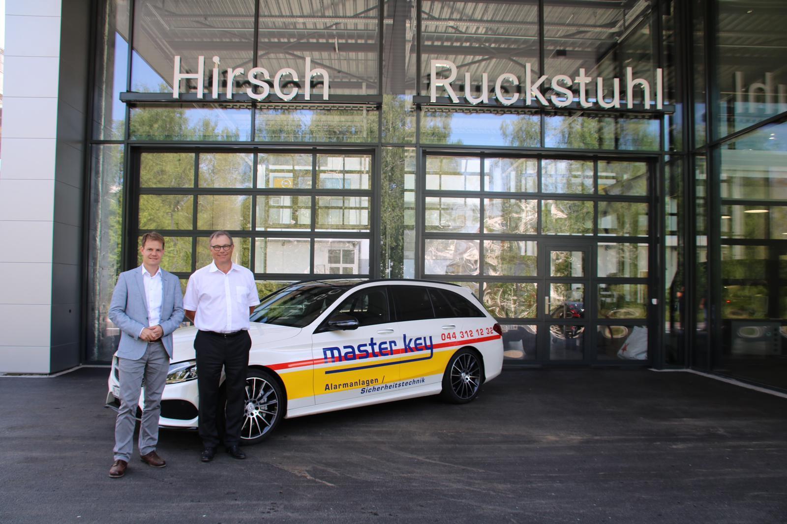 Referenz Elektronische Schliessanlage Schlüsseldienst Zürich Mercedes Hirsch Ruckstuhl