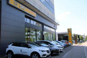 Referenz Elektronische Schliessanlage Schlüsseldienst Zürich Opel Ruckstuhl Kloten 2