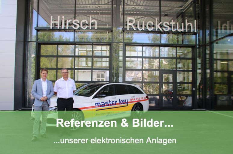 Referenzen unserer Elektronischen Anlagen vom Schlüsseldienst Turbenthal