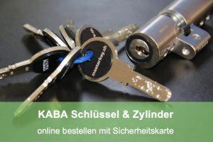 Zylinder nachbestellen beim Schlüsseldienst Obfelden