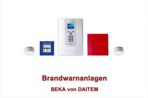 BEKA Daitem Brandmeldeanlage von Master Alarm